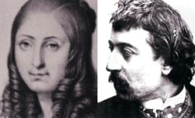 Flora Tristan y Paul Gaugin