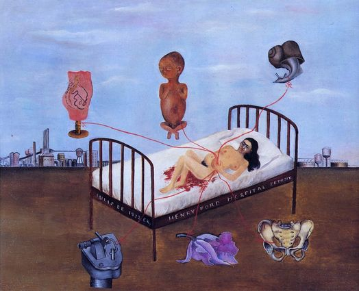 Hospital Henry Ford (Frida Kahlo, 1932)