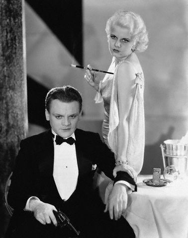 Jean Harlow y James Cagney en El enemigo público (The Public Enemy, 1931)