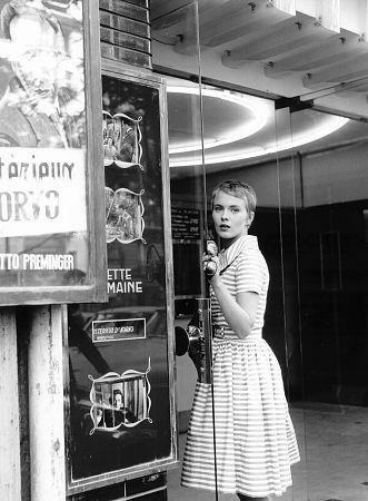 Jean Seberg en Al final de la escapada (1959)