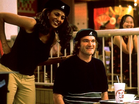 Pam Grier y Quentin Tarantino, Jackie Brown (1997)