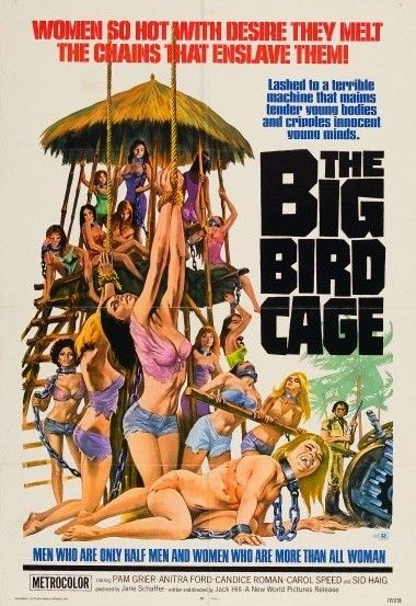 Pam Grier, The Big Bird Cage (1972)