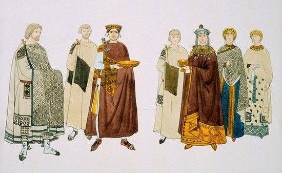 Justianiano y Teodora de Bizancio