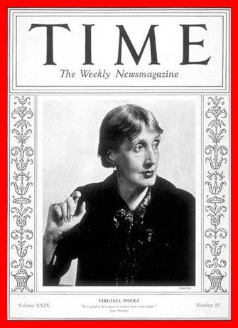 Virginia Woolf - Portada de la revista Time