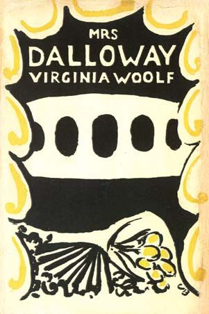Virginia Woolf - Portada original de La Señora Dalloway (1925)