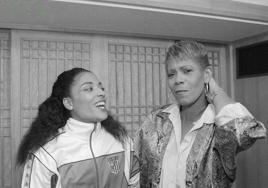Florence Griffith-Joyner y Wilma Rudolph