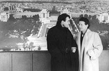 Simone de Beauvoir y Claude Lanzmann
